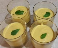 Variation von Indische Mangocreme