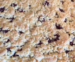 Kirsch-Streusel-Kuchen einfach & lecker