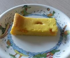 Schneller Käsekuchen OHNE Boden - glutenfrei und vegan