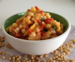 Exotischer Couscous Salat – scharf und süss zugleich