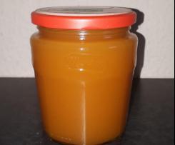 Kürbis Apfel Orangen Marmelade