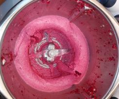 Fruchteis ohne Zucker und vegan