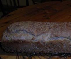 Körnerbrot mit Roggen & Buttermilch
