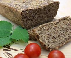 Darmschmeichler-Brot, ohne Mehl, ohne Hefe