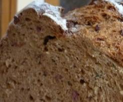 Bärlauch-Speck-Zwiebel-Brot