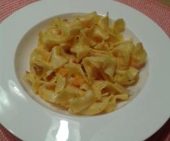 Kürbis-Thymian-Sauce zu Nudeln