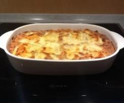 Lasagne ohne Bechamelsoße