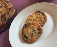 Orangen-Chocolatechip Cookies