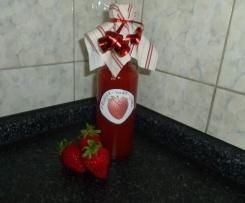 Erdbeer-Hugo-Likör
