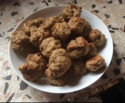 Hackfleischbällchen aus dem Ofen fettarm