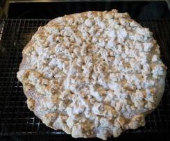 Streuselkuchen mit Hefeteig von Sofie