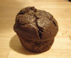 Schoko Möhren Muffins - saftig, lecker und gesund