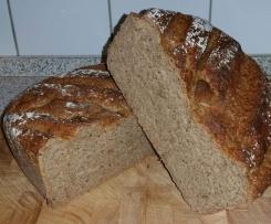 Bergmanns Brot ... ein herzhaft, würziges Brot, innen saftig und außen wunderbar knusprig