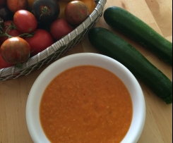 Zucchini - Tomatensuppe