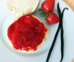 Erdbeer-Vanille-Samt