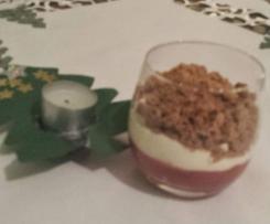 Connys Weihnachtstraum, Dessert mit Spekulatius, einfach und sehr lecker