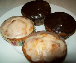 Mandel-Quark-Muffins Zweierlei