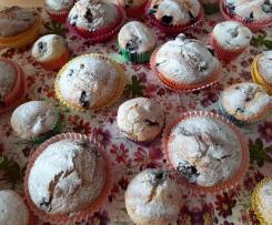 Blaubeer-Joghurt Muffins
