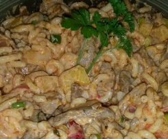 Gyros Salat a la Drea