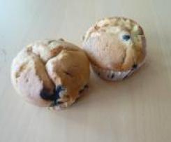 Heidelbeer-Muffins / Küchlein