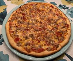 Dinkelmehl-Pizzateig