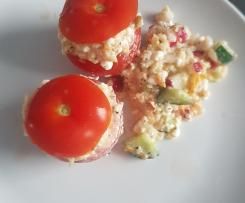 Variation Hüttenkäse Salat - HCG Diätphase