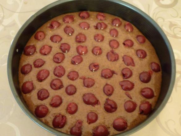 Kirsch Schoko Nuss Kuchen Kirschkuchen Von Mia Stella Ein