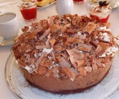 Sündige Schokomousse-Torte für Schokoholics