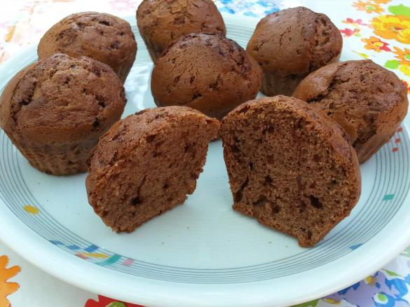 vollkorn bananen schoko muffins von abkna ein thermomix rezept aus der kategorie backen s. Black Bedroom Furniture Sets. Home Design Ideas