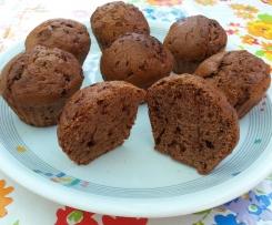 Vollkorn-Bananen-Schoko-Muffins