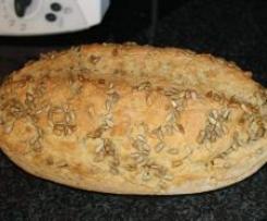Dinkel-Haferflocken-Brot