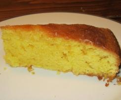 fluffiger, saftiger Zitronenkuchen (mit viel Vitmamin C ;-))