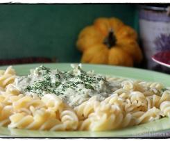 Pasta mit Broccoli-Käse-Soße