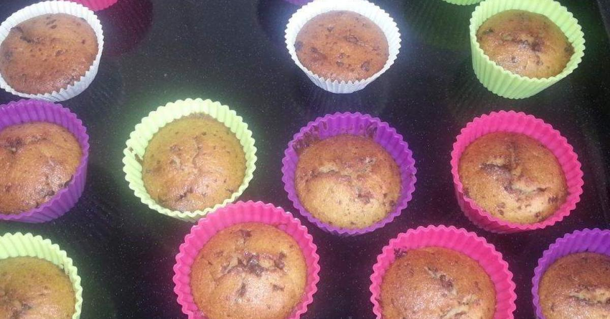 bananen schoko muffins von lapetiteallemande ein thermomix rezept aus der kategorie backen. Black Bedroom Furniture Sets. Home Design Ideas