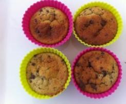Bananen-Schoko Muffins