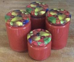 Erdbeer-Colada-Marmelade (Erdbeeren mit Kokosmilch und Rum)
