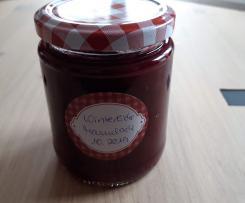 Winterliche Marmelade mit Amaretto