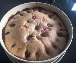 Pflaumen-Nuss-Kuchen