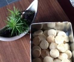 Heidesand mit gebräunter Butter und Meersalz