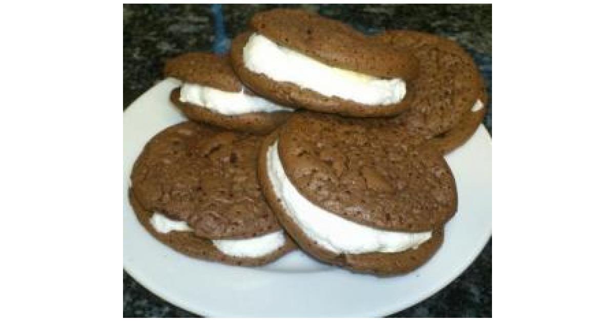 Whoopi-Pie ( Sandwich-Keks mit Marshmallowfüllung) von sifrie79. Ein ...
