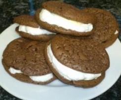 Whoopi-Pie ( Sandwich-Keks mit Marshmallowfüllung)