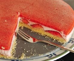 Erdbeer-Creme Kuchen