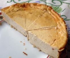Low Carb Quarkkuchen mit Birne