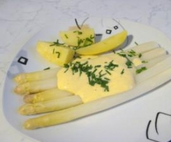 Zitronen-Zabaione (Spargelsoße WW-tauglich)