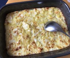 Kartoffelgratin nach Oma's Art