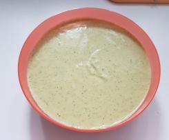 Zucchini - Dip für viele Gelegenheiten, gesund und leicht