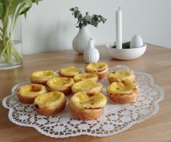 Pasteis de Nata (portugiesische Puddingtörtchen)