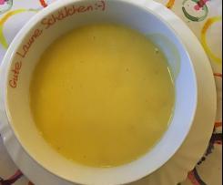 Kürbis - Frühstückssuppe (süß)