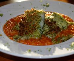 Schlemmerfilet mit Tomatenrisotto