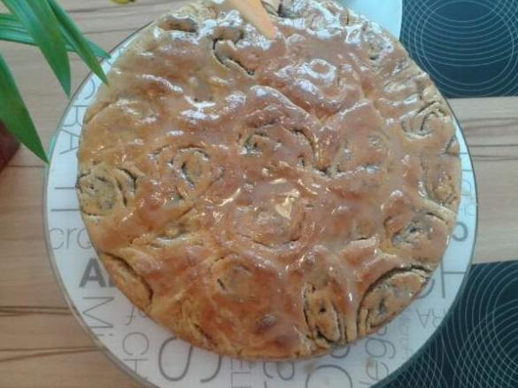 Nussschneckenkuchen Vegan Von Julia V Ein Thermomix Rezept Aus